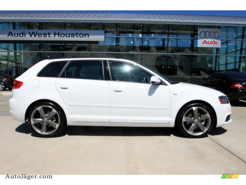 2011 Audi A3 2.0 TFSI in Ibis White photo #3 - 036697 | Auto Jäger ...