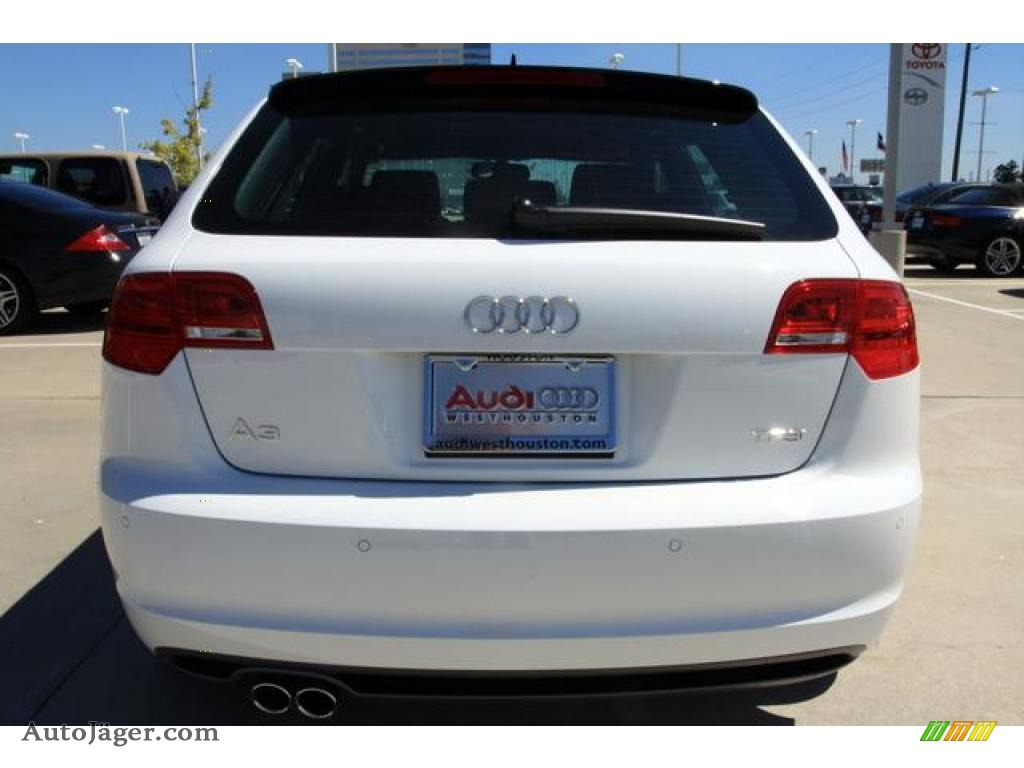 2011 Audi A3 2.0 TFSI in Ibis White photo #5 - 036697 | Auto Jäger ...