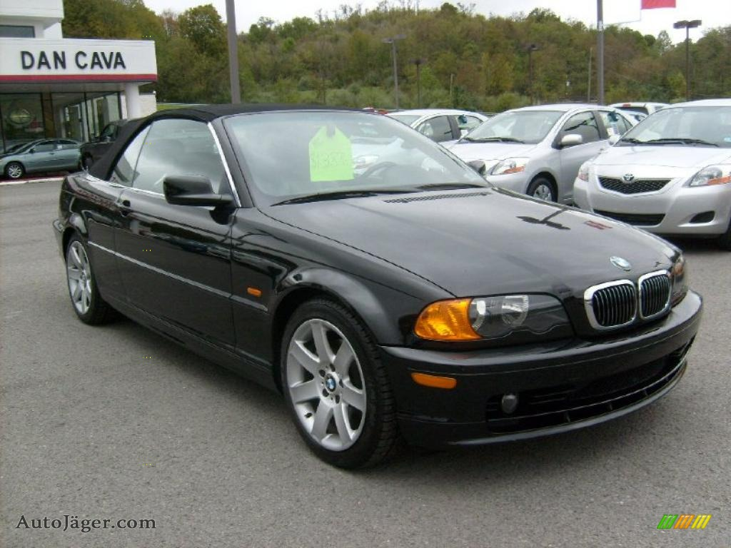 2001 BMW 3 Series 325i Convertible in Black Sapphire Metallic - Y57189 ...