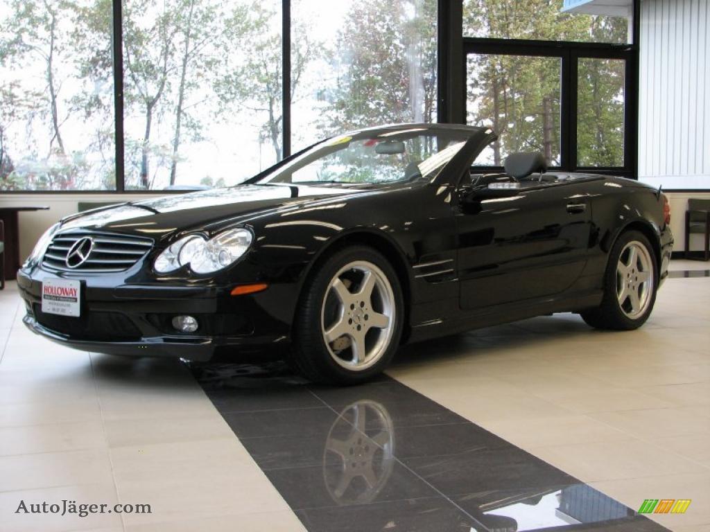 2003 mercedes benz sl 500 roadster in black 030817 for Mercedes benz sl 500 2003