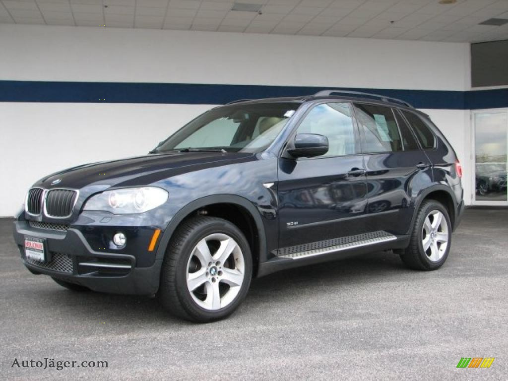 2007 bmw x5 in monaco blue metallic y81213 auto j ger german cars for sale in the us. Black Bedroom Furniture Sets. Home Design Ideas
