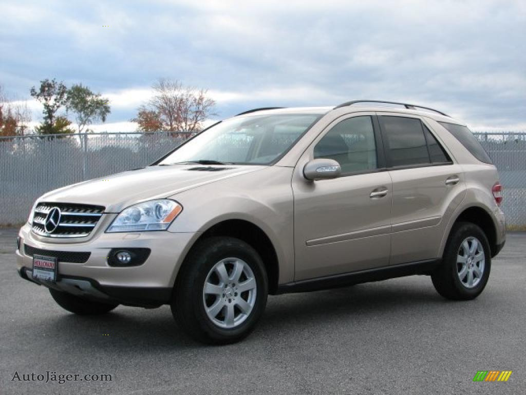 2007 mercedes benz ml 350 4matic in desert silver metallic for Mercedes benz ml 350 2007