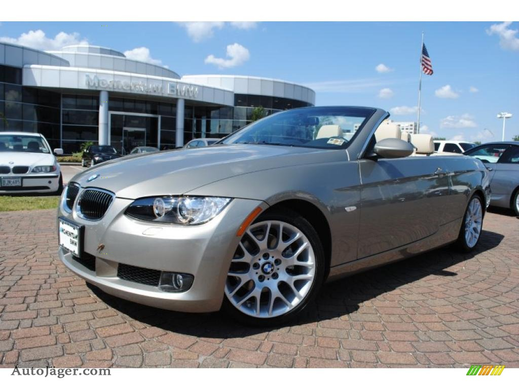 2009 Bmw 3 Series 328i Convertible In Platinum Bronze