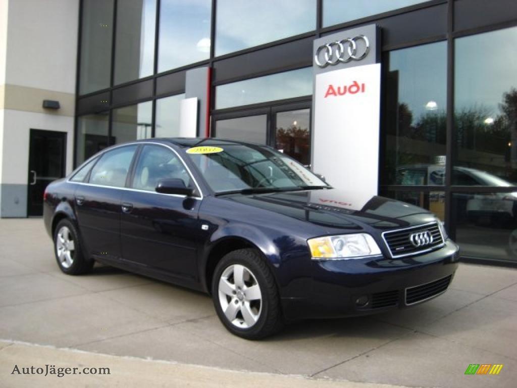 2002 audi a6 2 7t quattro sedan in ming blue pearl 036837 auto j ger german cars for sale. Black Bedroom Furniture Sets. Home Design Ideas