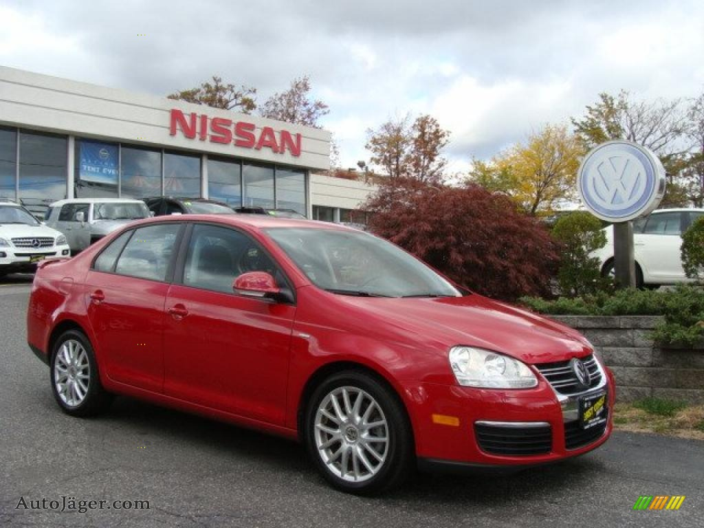2008 volkswagen jetta wolfsburg edition sedan in salsa red. Black Bedroom Furniture Sets. Home Design Ideas