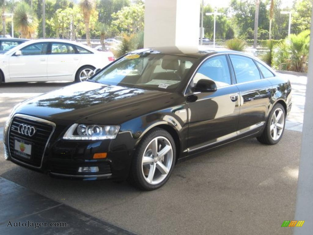 black audi 2010. brilliant black audi a6 30 tfsi quattro sedan 2010