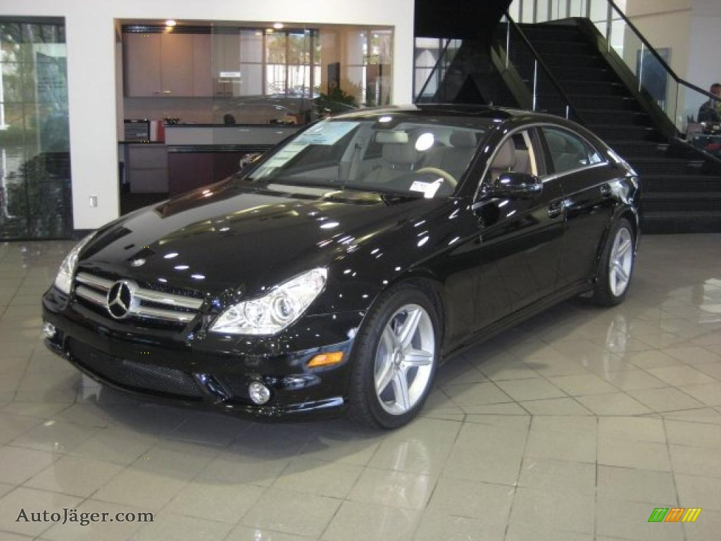 2011 mercedes benz cls 550 in black 172654 auto j ger. Black Bedroom Furniture Sets. Home Design Ideas