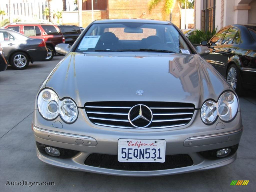2003 mercedes benz clk 55 amg coupe in pewter silver for Simonson mercedes benz