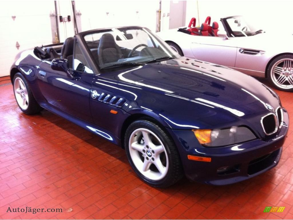 1997 BMW Z3 2.8 Roadster in Montreal Blue Metallic photo #3