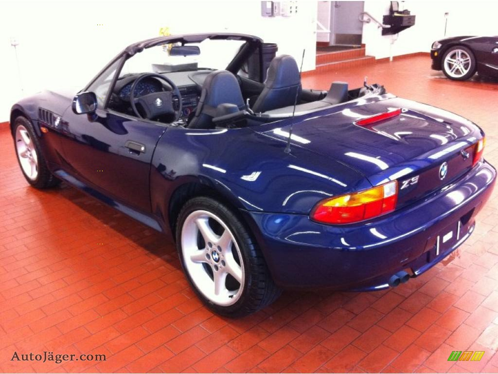 1997 Bmw Z3 2 8 Roadster In Montreal Blue Metallic Photo 7 C08735 Auto Jager German Cars For Sale In The Us