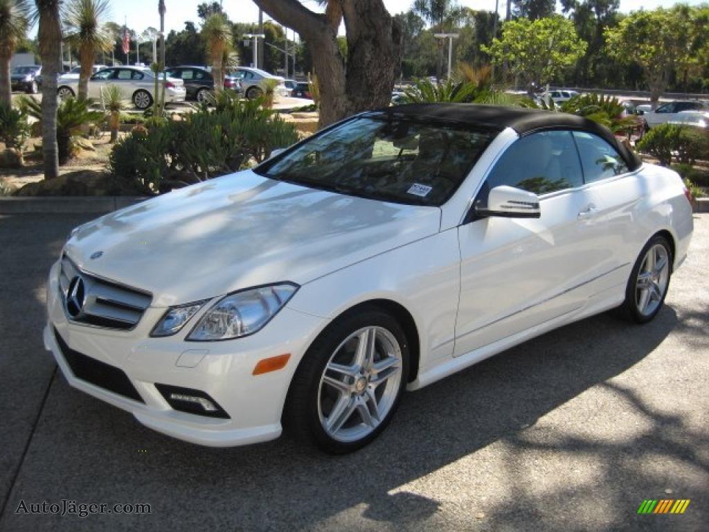 2011 mercedes benz e 550 cabriolet in diamond white metallic 079582 auto j ger german cars. Black Bedroom Furniture Sets. Home Design Ideas