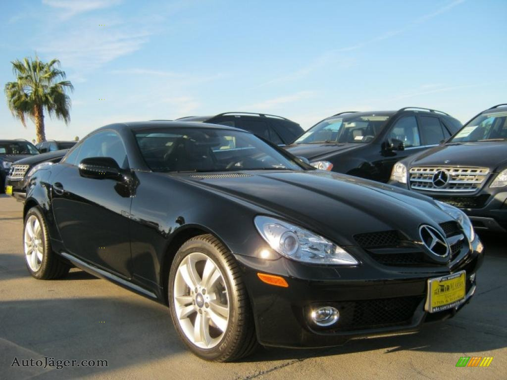 2010 mercedes benz slk 300 roadster in black 225409 for 2010 mercedes benz slk