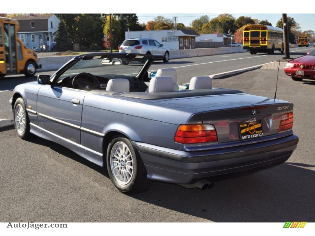 1999 bmw 3 series 323i convertible in steel blue metallic. Black Bedroom Furniture Sets. Home Design Ideas