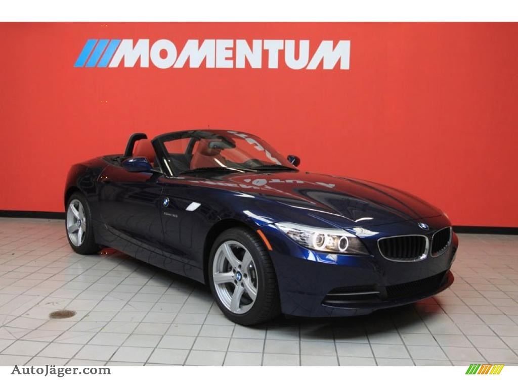 2011 Bmw Z4 Sdrive30i Roadster In Deep Sea Blue Metallic 378780 Auto J 228 Ger German Cars For