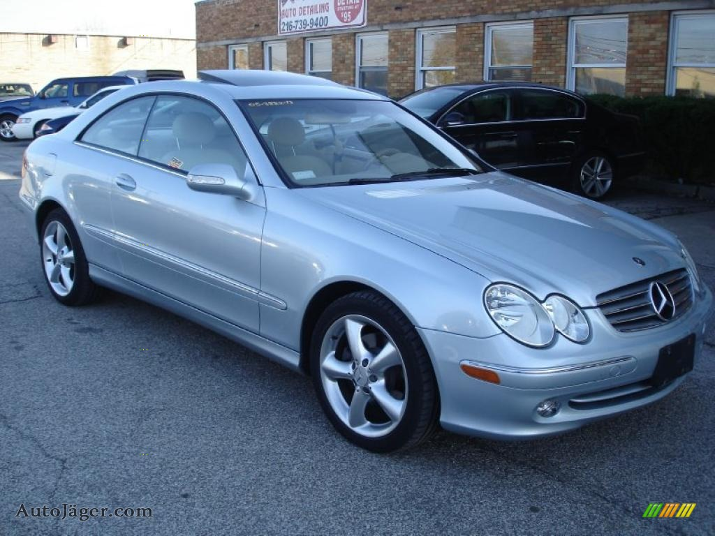 2005 mercedes benz clk 320 coupe in brilliant silver for 2005 mercedes benz clk320 for sale