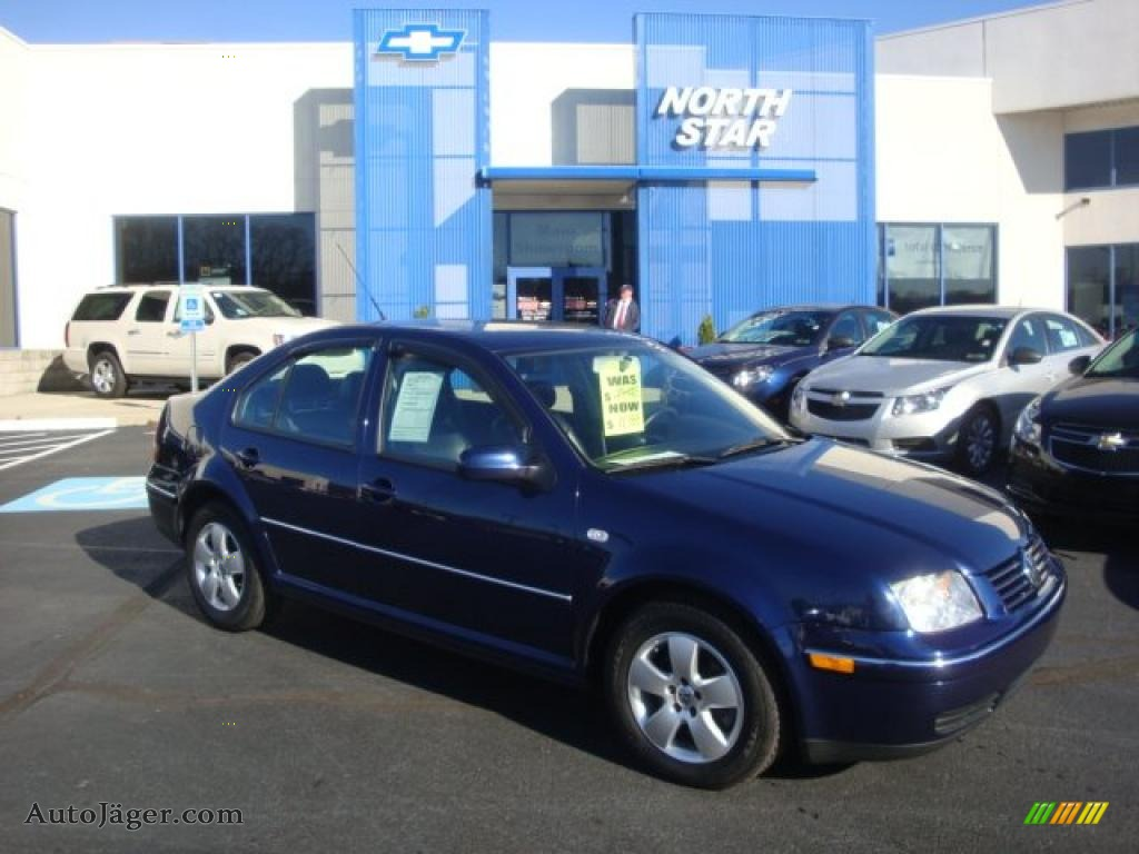 2004 volkswagen jetta gls 1 8t sedan in galactic blue metallic 045451 auto jager german cars for sale in the us auto jager