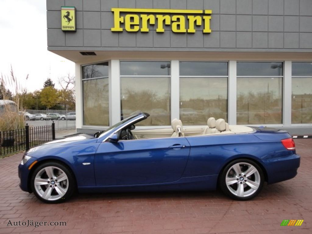 2007 BMW 3 Series 335i Convertible in Montego Blue Metallic - X45175 ...
