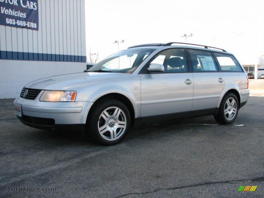 Steve White Vw >> 2001 Volkswagen Passat GLX V6 4Motion Wagon in Satin Silver Metallic - 002269 | Auto Jäger ...