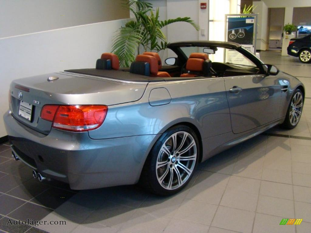 2009 BMW M3 Convertible in Space Grey Metallic photo 4  332274
