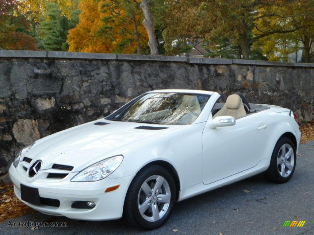 2007 mercedes benz slk 280 roadster in arctic white for Long beach mercedes benz dealer