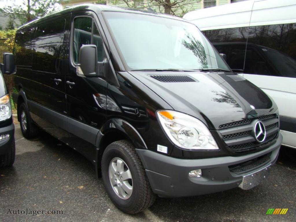 2010 mercedes benz sprinter 2500 passenger van in black for Mercedes benz vans for sale used