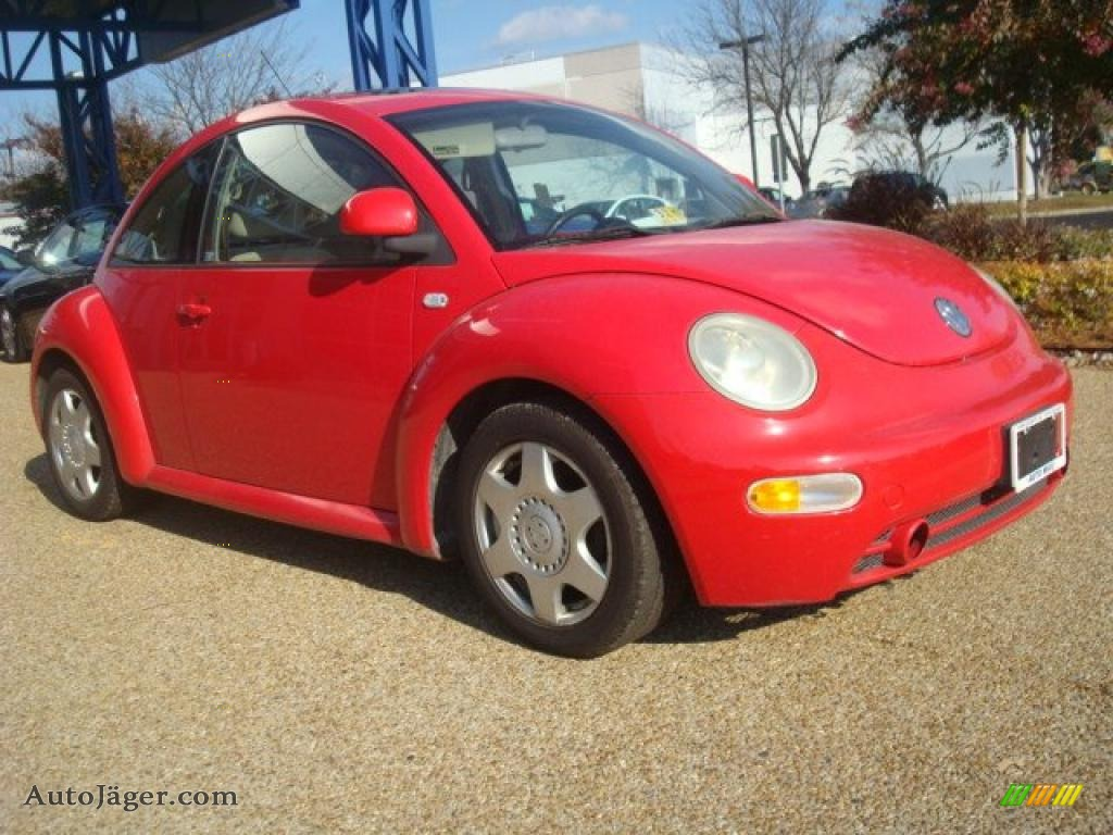 2000 volkswagen new beetle gls coupe in red uni photo 6 Tysinger motor company