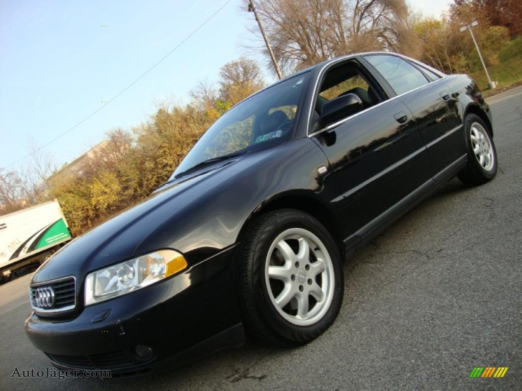1999 audi a4 2 8 quattro sedan in brilliant black 314097. Black Bedroom Furniture Sets. Home Design Ideas