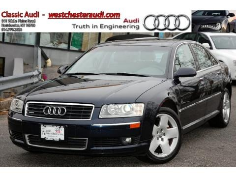 Night Blue Pearl 2005 Audi A8 L 4.2 quattro. Night Blue Pearl Platinum