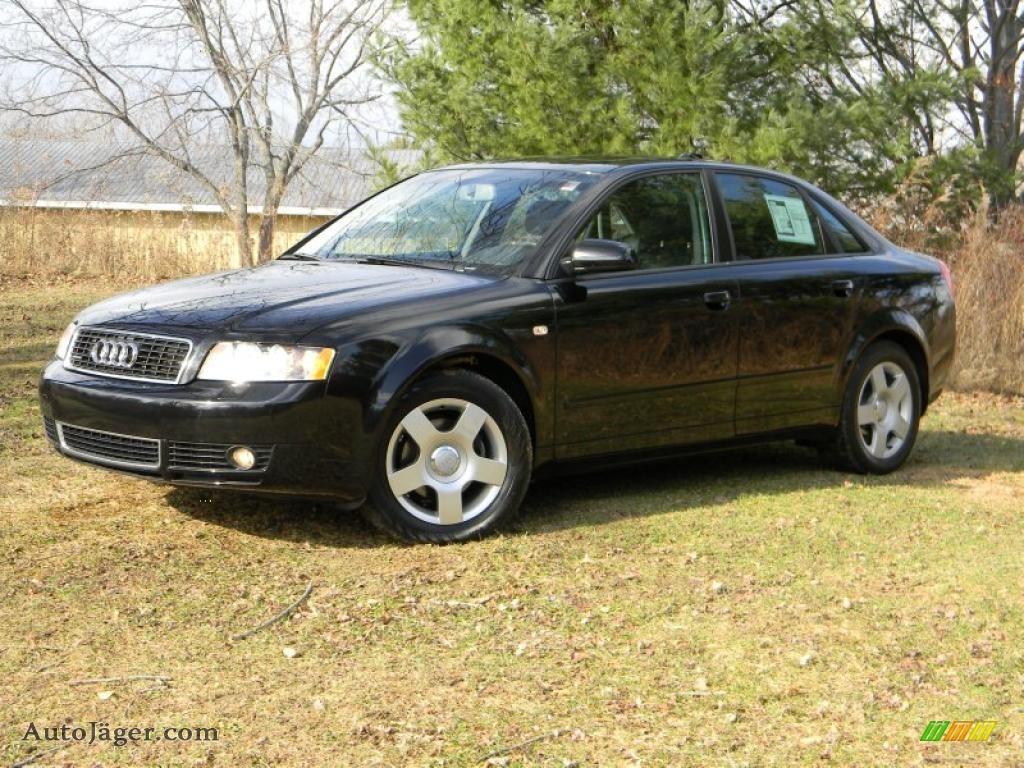 2004 audi a4 1 8t quattro sedan in brilliant black 156831 auto j ger german cars for sale. Black Bedroom Furniture Sets. Home Design Ideas