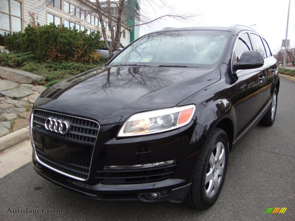 2007 audi q7 3 6 premium quattro in phantom black pearl effect 050779 auto j ger german. Black Bedroom Furniture Sets. Home Design Ideas