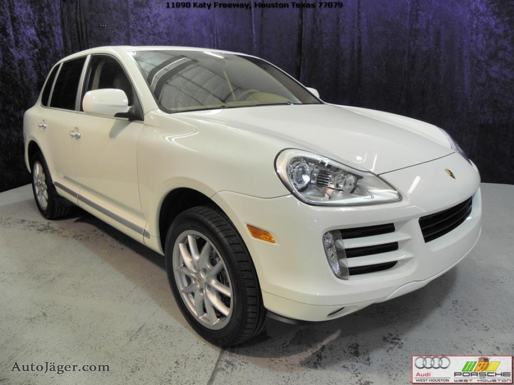 2008 Porsche Cayenne Tiptronic In Sand White A18419