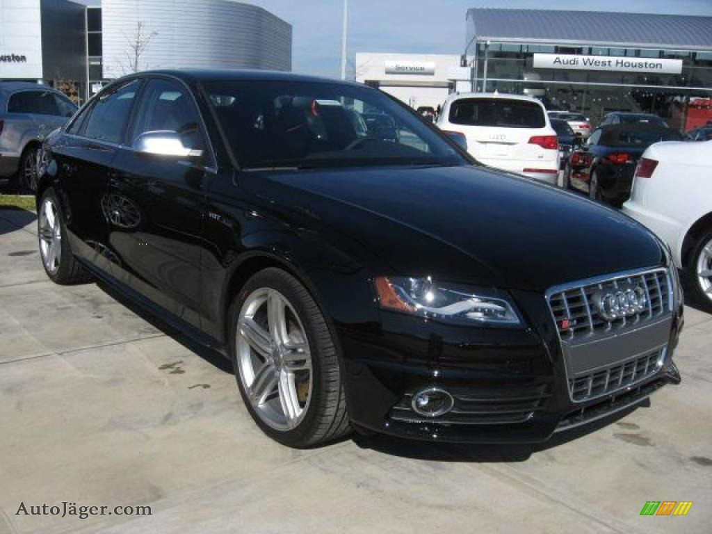 2011 audi s4 3 0 quattro sedan in brilliant black 051610. Black Bedroom Furniture Sets. Home Design Ideas