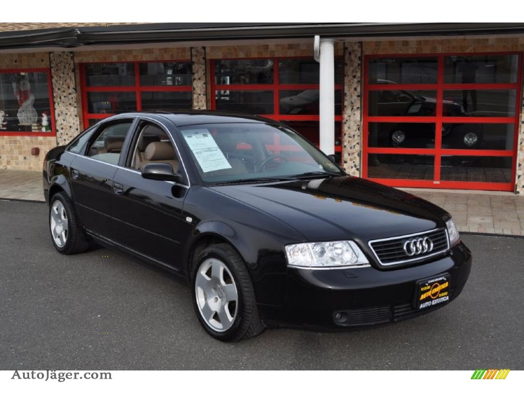 2001 audi a6 2 8 quattro sedan in brilliant black 048759. Black Bedroom Furniture Sets. Home Design Ideas