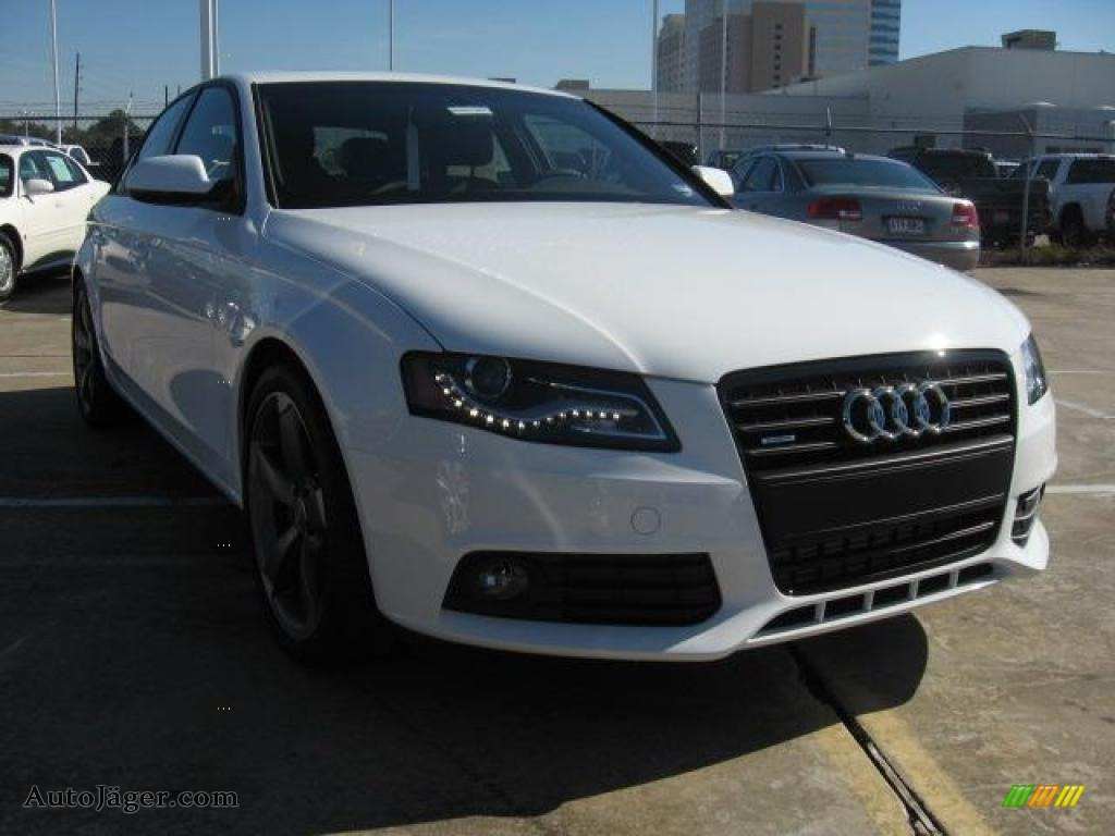2011 audi a4 2 0t quattro sedan in ibis white 027282 auto j ger german cars for sale in the us. Black Bedroom Furniture Sets. Home Design Ideas