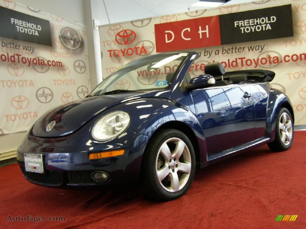 2006 Volkswagen New Beetle 2.5 Convertible in Shadow Blue - 321852 ...