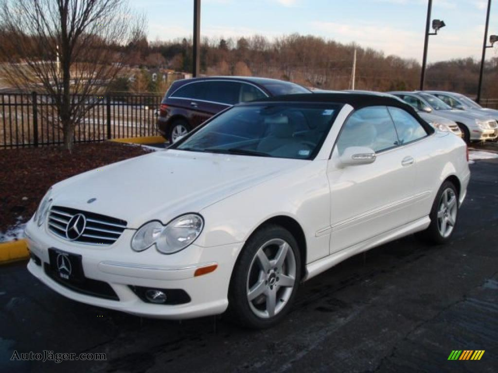 2005 mercedes benz clk 500 cabriolet in alabaster white for Mercedes benz clk 2005