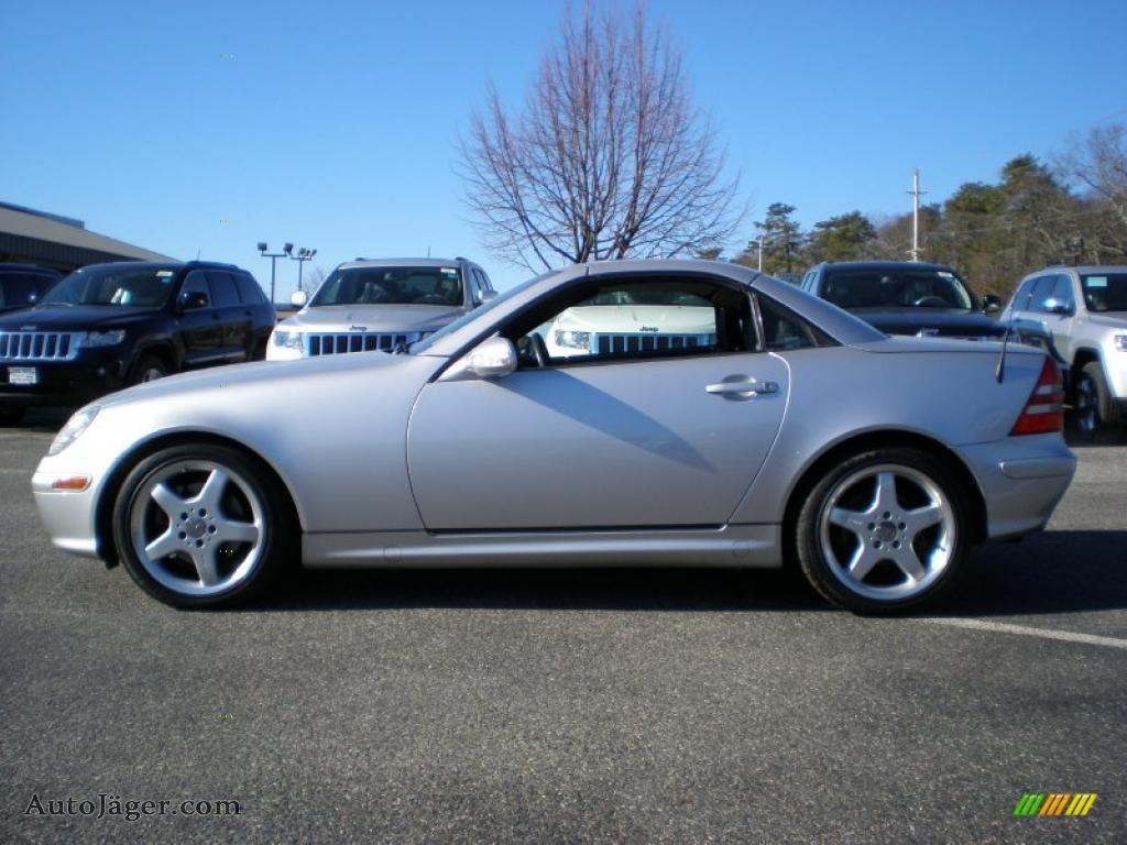 2003 mercedes benz slk 320 roadster in brilliant silver for Mercedes benz slk roadster for sale