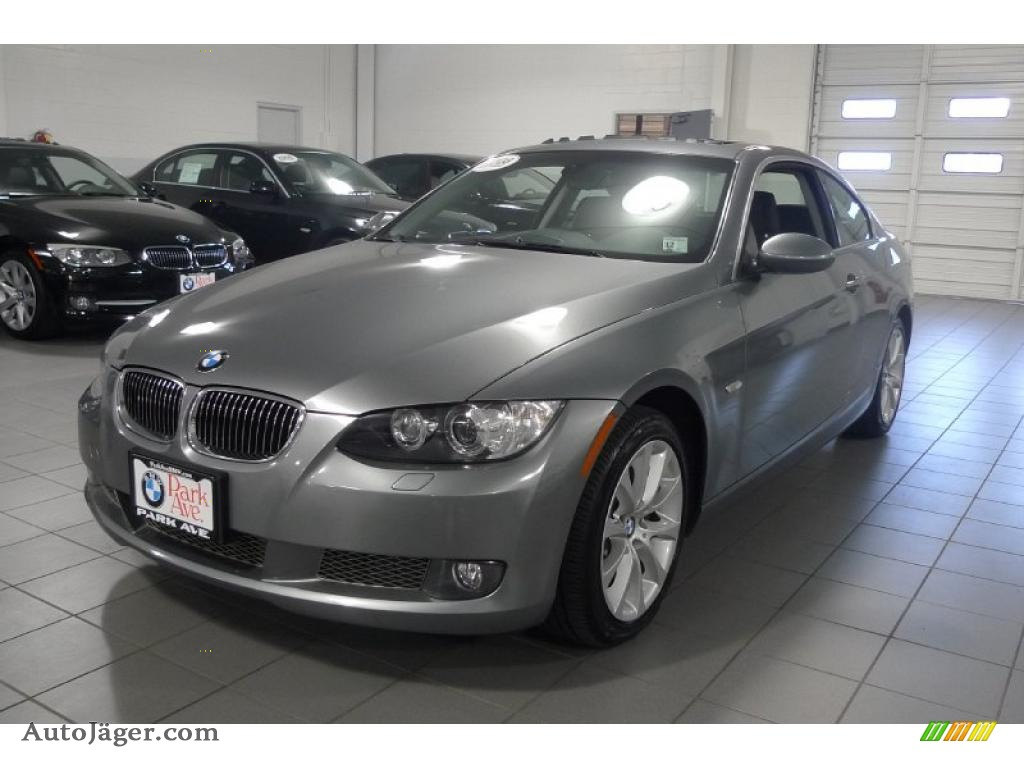 2008 Bmw 3 Series 335xi Coupe In Space Grey Metallic