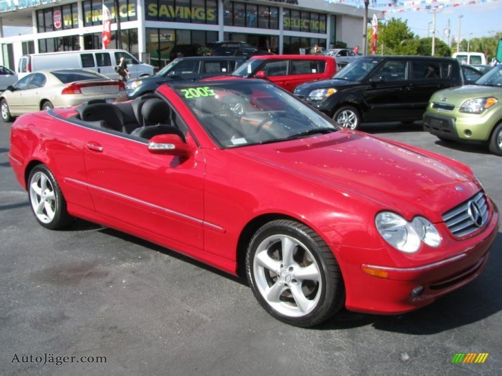 2005 CLK 320 Cabriolet - Mars