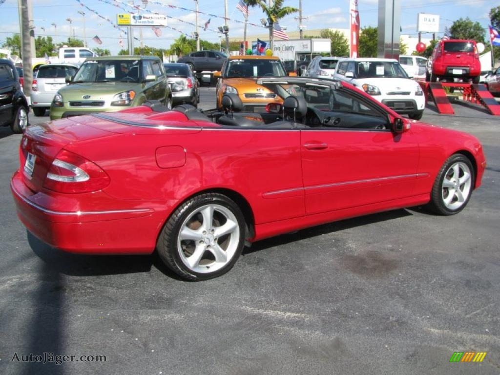 2005 mercedes benz clk 320 cabriolet in mars red photo 29 for 2005 mercedes benz clk 320