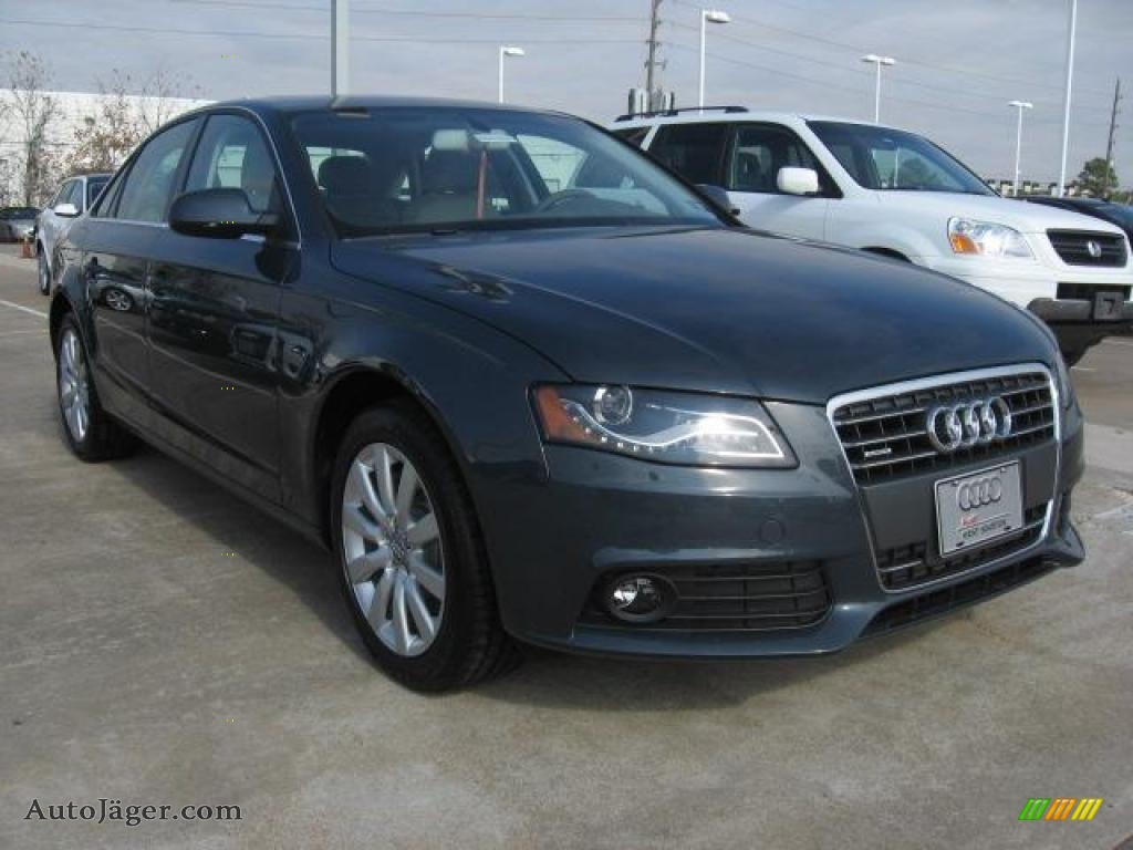 2011 audi a4 2 0t quattro sedan in meteor grey pearl 075542 auto j ger german cars for. Black Bedroom Furniture Sets. Home Design Ideas