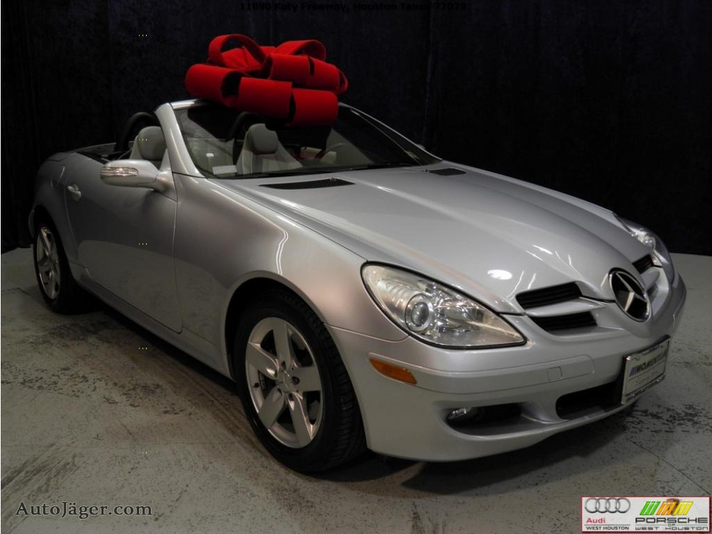 2006 mercedes benz slk 280 roadster in iridium silver for Mercedes benz slk 2006