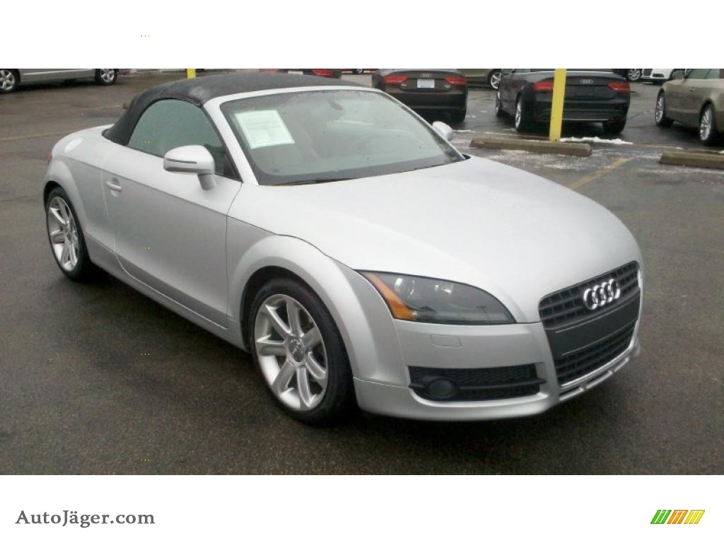 2008 audi tt 2 0t roadster in ice silver metallic photo 2 044513 auto j ger german cars. Black Bedroom Furniture Sets. Home Design Ideas