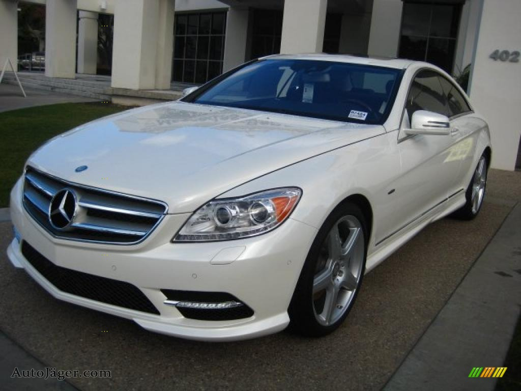 2011 mercedes benz cl 550 4matic in diamond white metallic. Black Bedroom Furniture Sets. Home Design Ideas