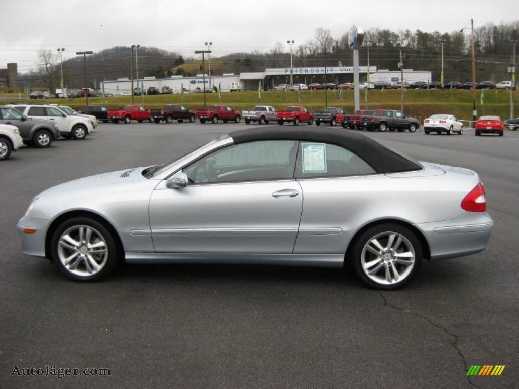 2006 mercedes benz clk 350 cabriolet in iridium silver for Mercedes benz 350 convertible