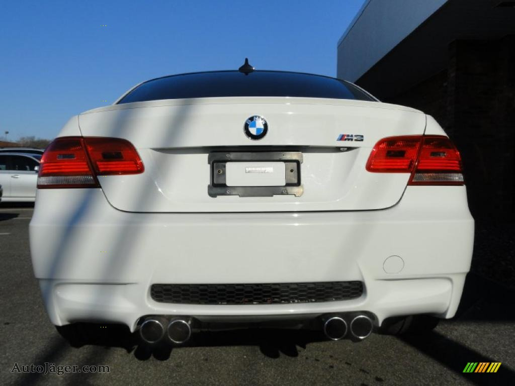 2009 bmw m3 coupe in alpine white photo 5 y43364 auto