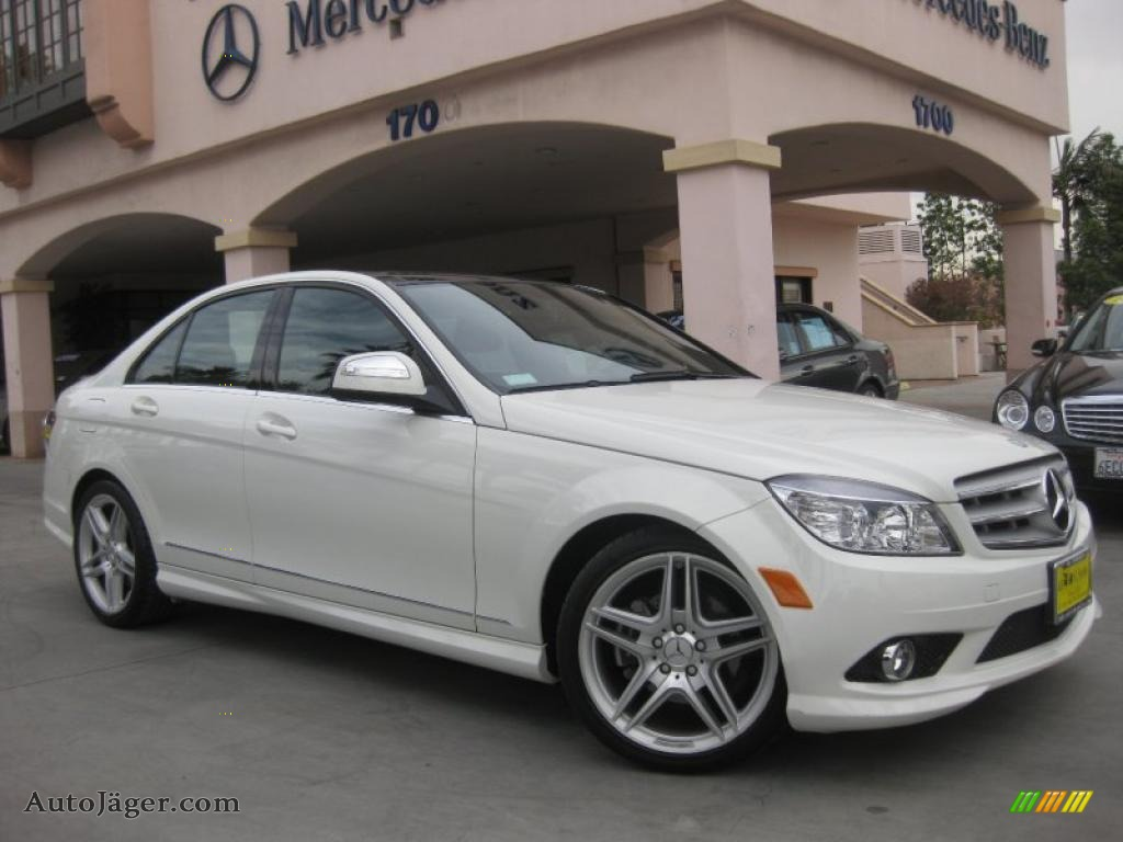 2009 mercedes benz c 300 sport in arctic white 200635 for 2009 mercedes benz c 300