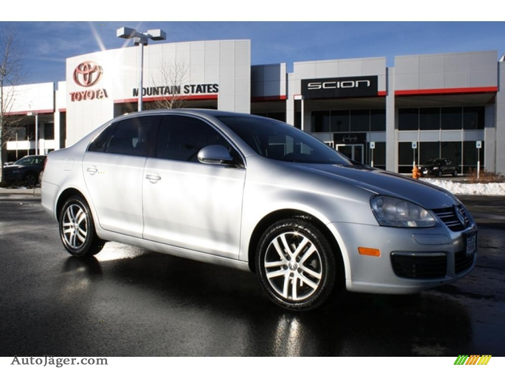 2006 volkswagen jetta tdi sedan in reflex silver metallic 750910 auto j ger german cars. Black Bedroom Furniture Sets. Home Design Ideas