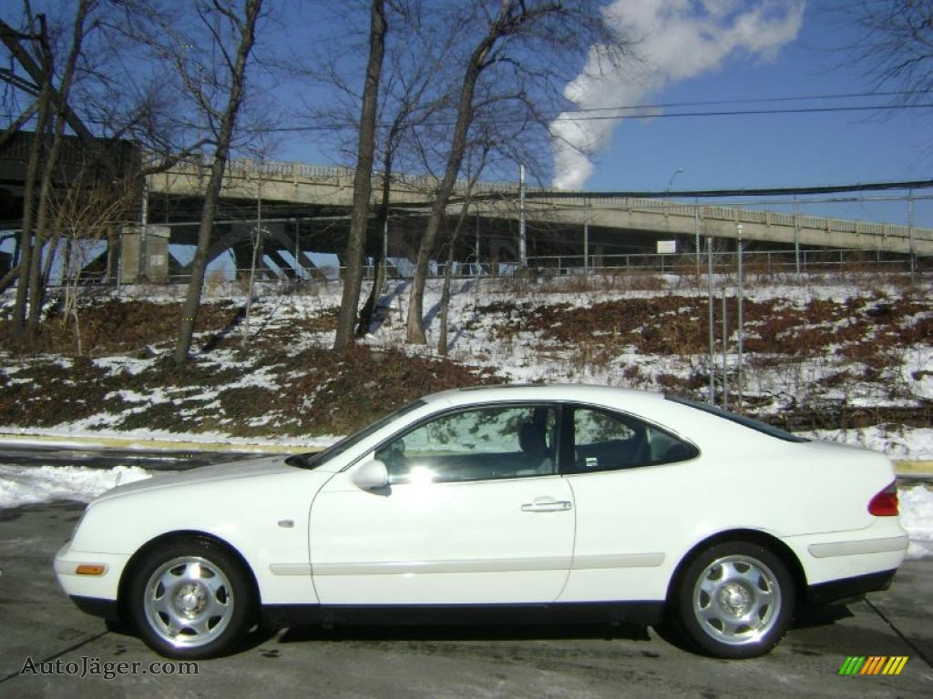 1999 mercedes benz clk 320 coupe in glacier white photo 2 for 1999 mercedes benz clk320 for sale