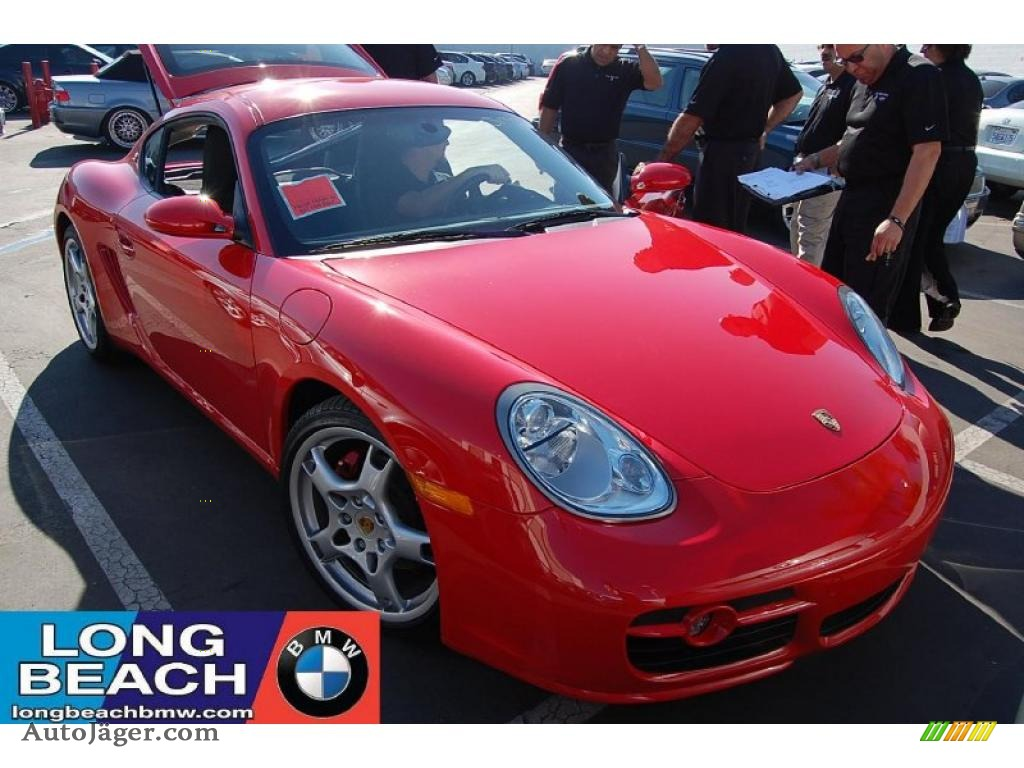 2007 Porsche Cayman S In Guards Red 783496 Auto J 228 Ger